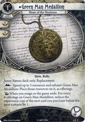 Green Man Medallion